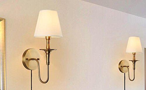 Kiven Classic Wall Lights Fabric E12 Plug In Ul Loft