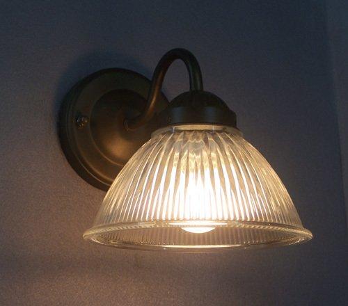 Kiven European Vintage Wall Light Glass Shade E26 Base