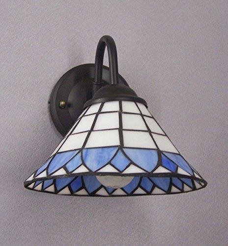 Kiven Vintage Attic Wall Light Glass Shade E26 Base Plug